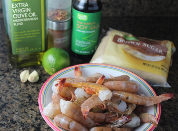 Garlic Chili Lime Grilled Shrimp Recipe