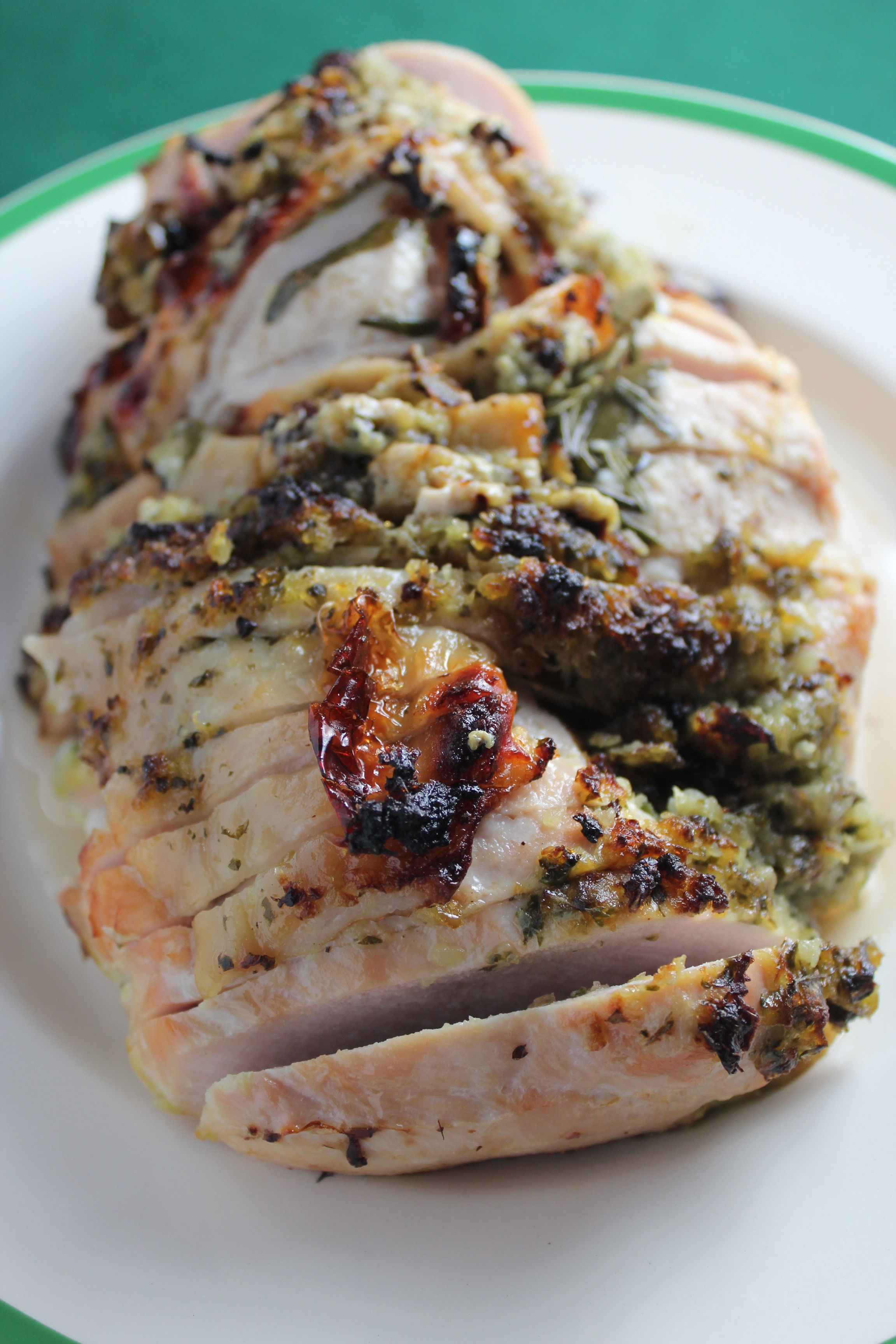 turkey breast, herb rubbed turkey breast, herb crusted turkey, thanksgiving turkey, christmas turkey, herb crusted turkey breast recipe