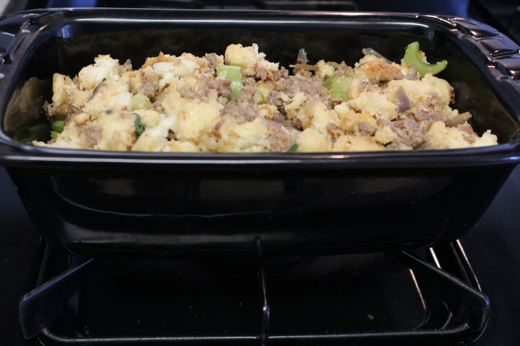 Sausage Stuffing Bake Recipe