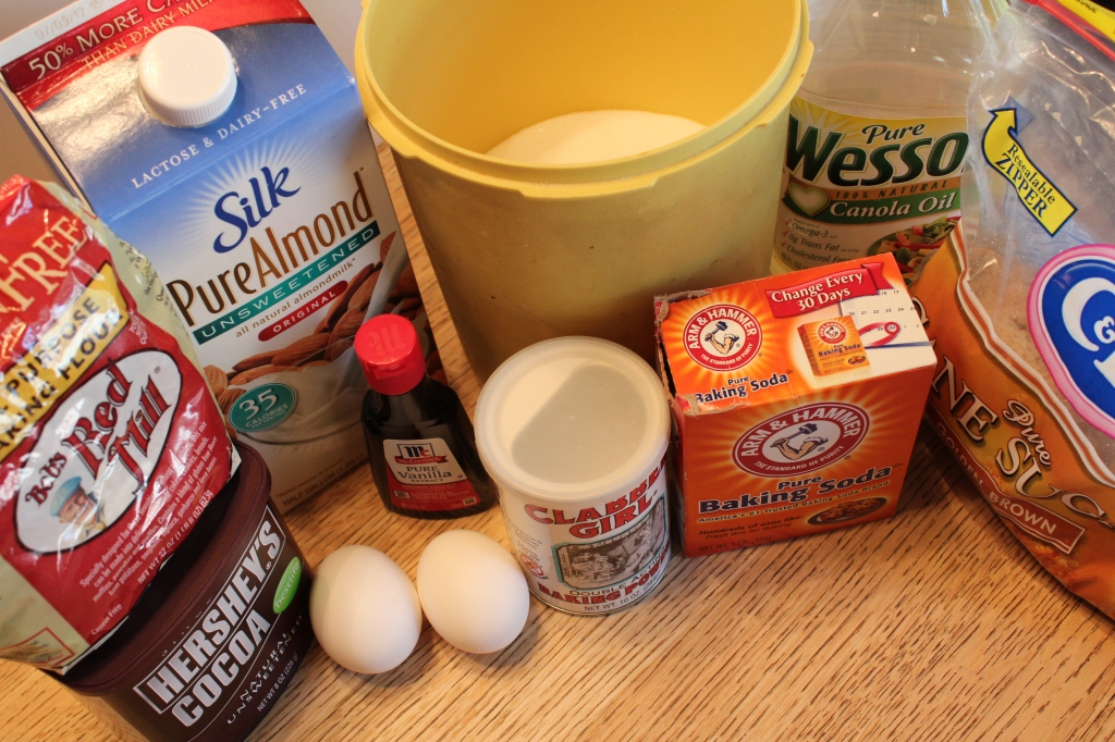 Gluten Free Chocolate Cake Ingredients