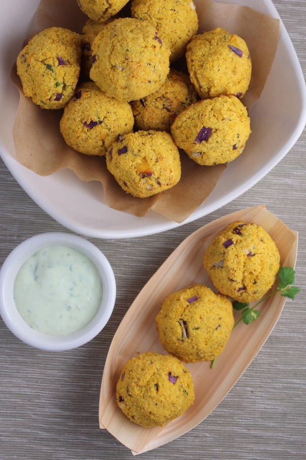 Healthy Squash Hush Puppies Recipe