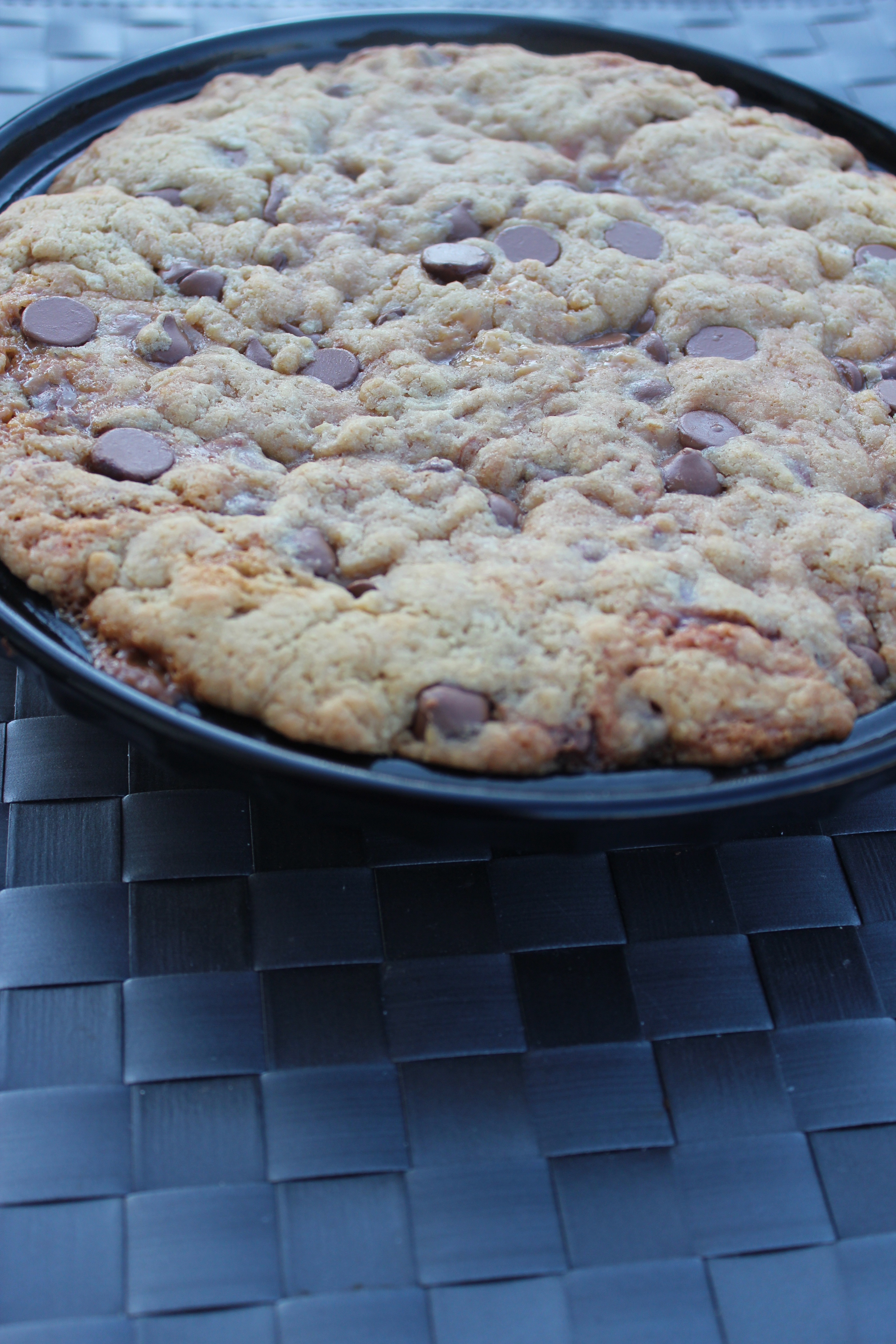 Chocolate Chip Pecan Cookie Pie