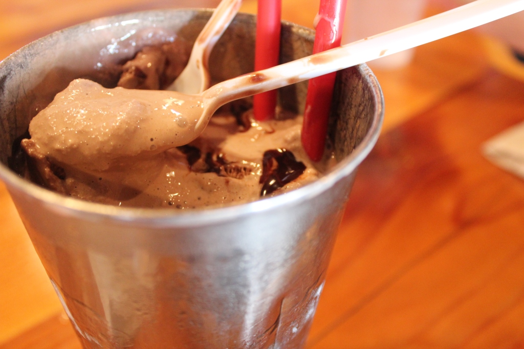 Hodad's, San Diego, Chocolate, Milkshake, Ice Cream, Syrup, Milk