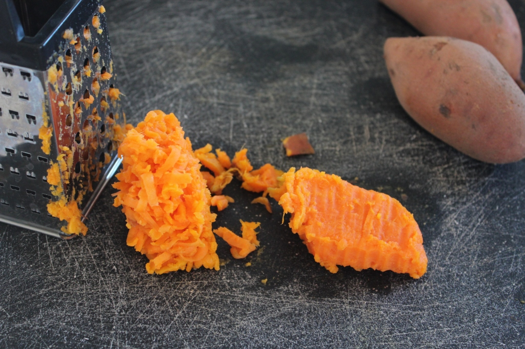 Grated Sweet Potatoes