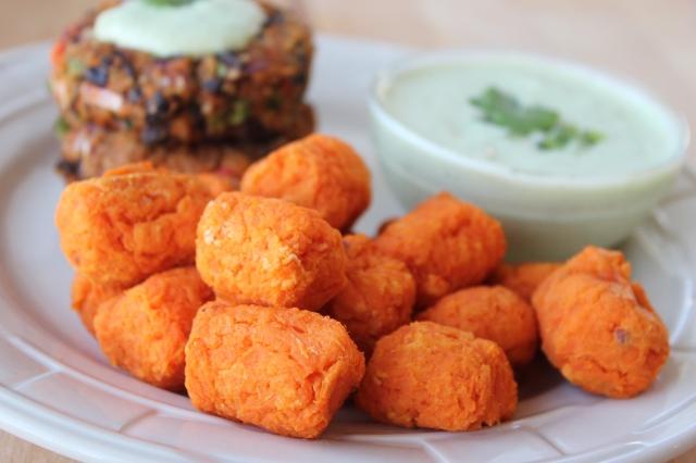 Homemade Sweet Potato Tots