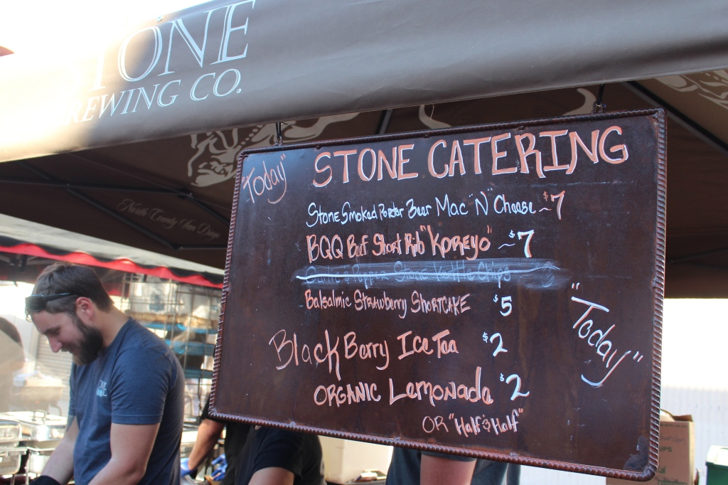 little italy, festa, san diego, food, menu, stone brewery, stone catering, mac and cheese, festival, Italian