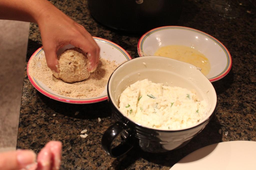 rice balls, baked rice balls, risotto balls, ricotta filled arancini, ricotta filled risotto balls, ricotta filled rice balls, arancine