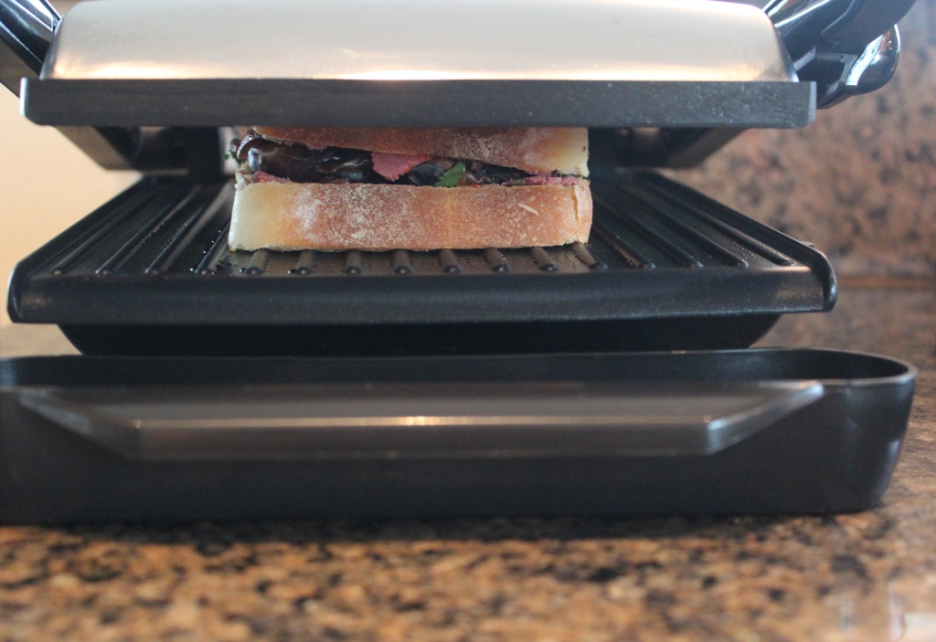 panini press, panini sandwich, pastrami panini, recipe