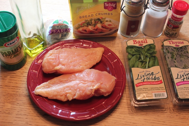 Gluten Free Chicken Parmesan Bite Ingredients