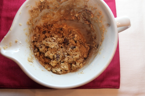 Gluten Free Oatmeal Raisin Cookie Dough