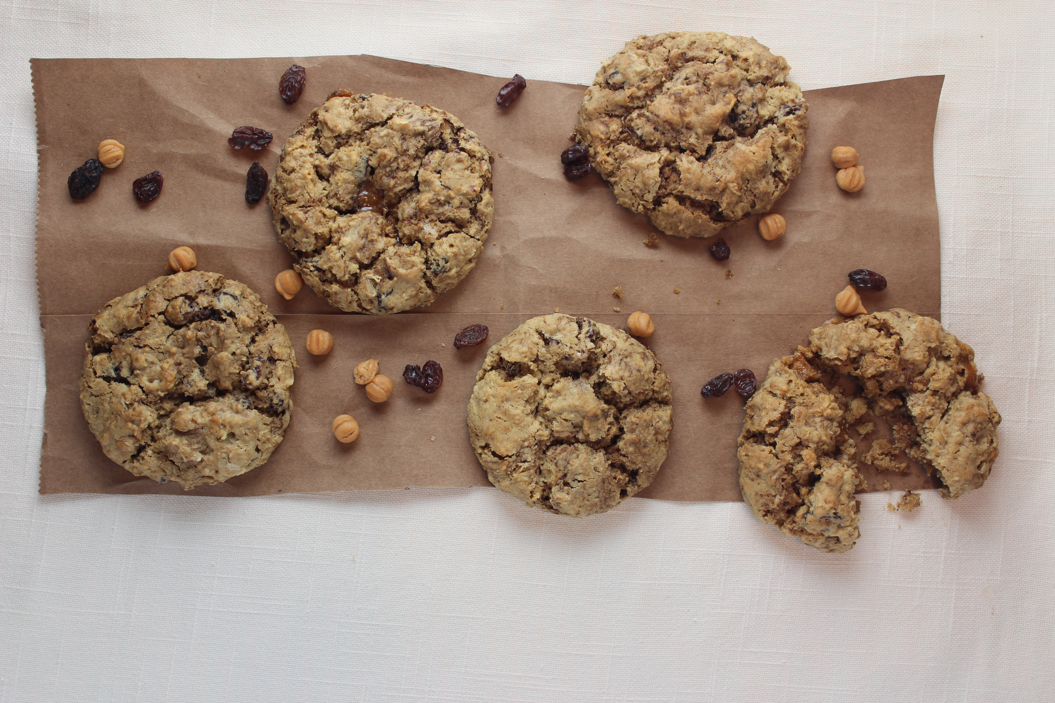 Oatmeal Raisin Coffee Cookies