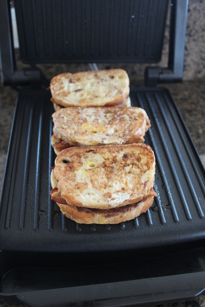 Nutella Bacon French Toast Panini