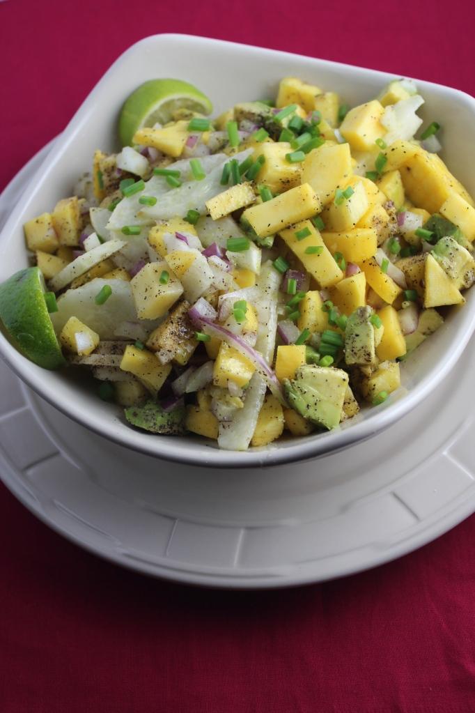 Mango Avocado Jicama Salsa