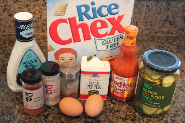 Buffalo Baked Pickle Chip Ingredients