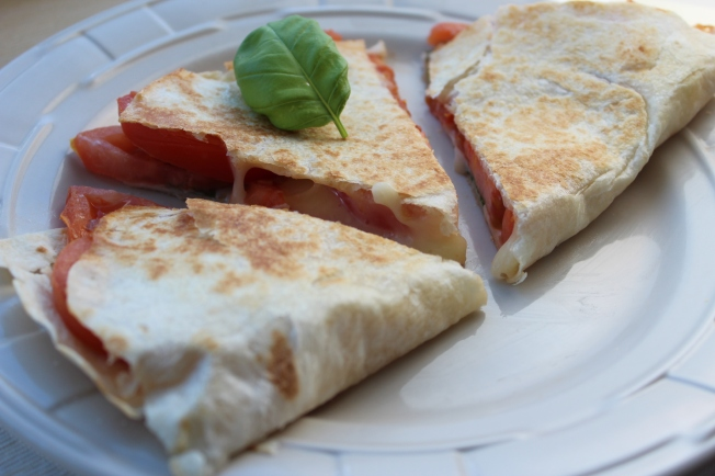 Italian quesadilla, caprese, recipes, food, vegetarian quesadilla, quesadilla, tomato basil quesadilla