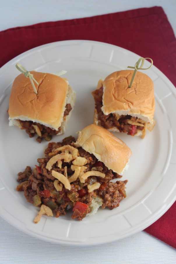 Gourmet Sloppy Joes