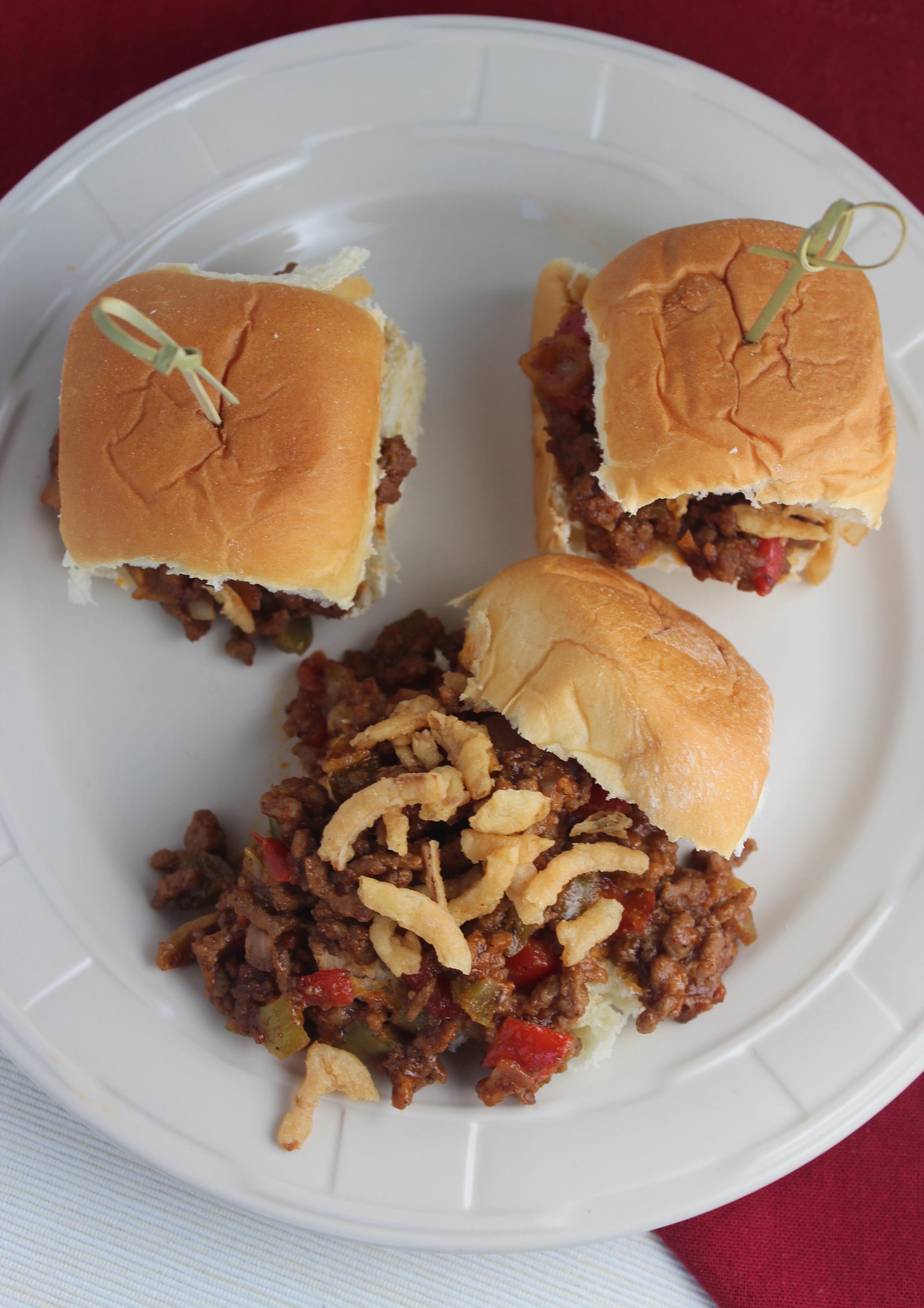 Gourmet Sloppy Joe Sliders