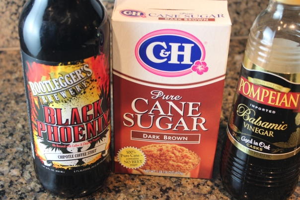 Balsamic Stout Reduction Ingredients