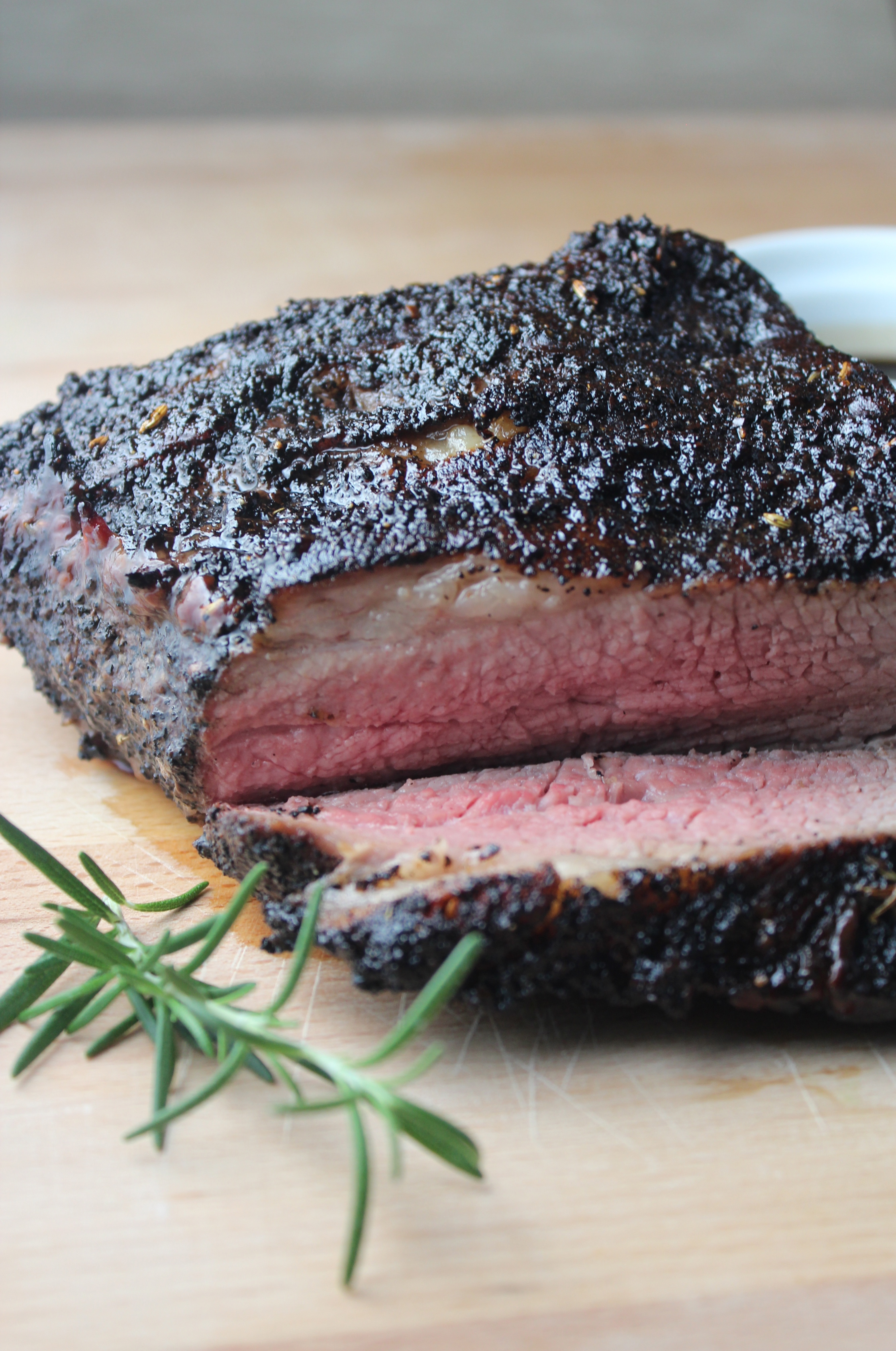 Coffee Crusted Grilled Tri Tip