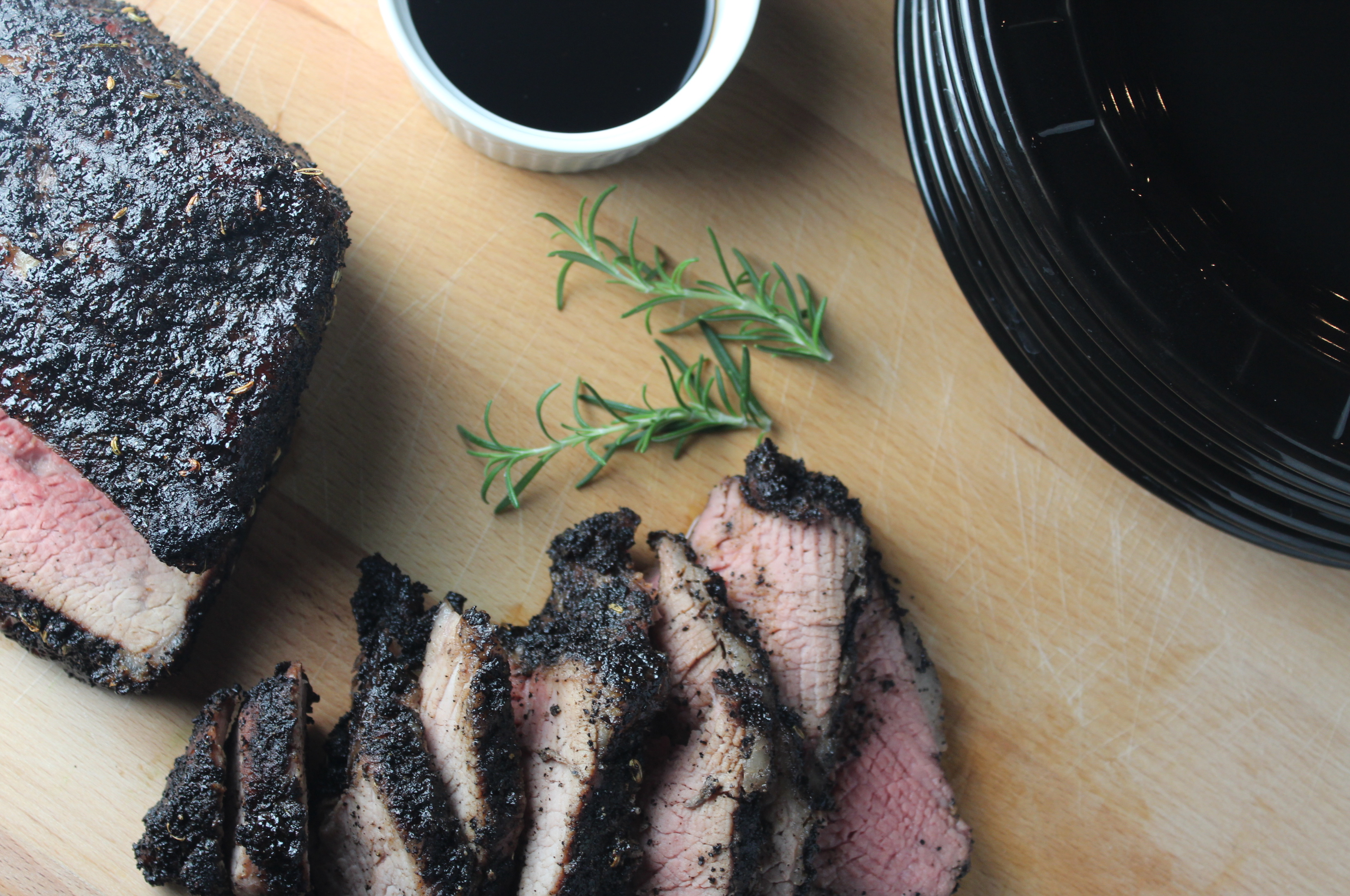 Grilled Tri Tip with Coffee Rub