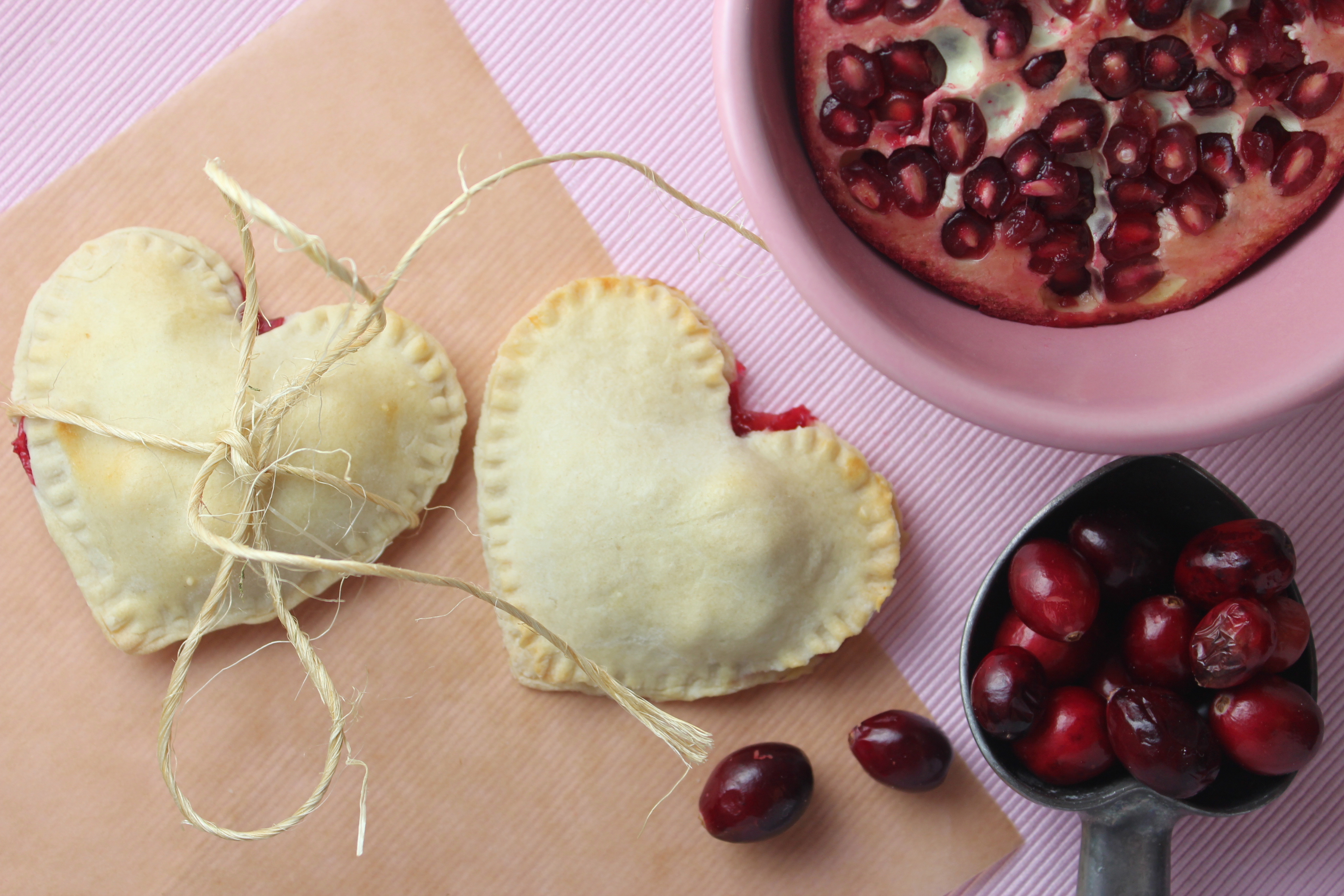 Mini Heart Shaped Pies