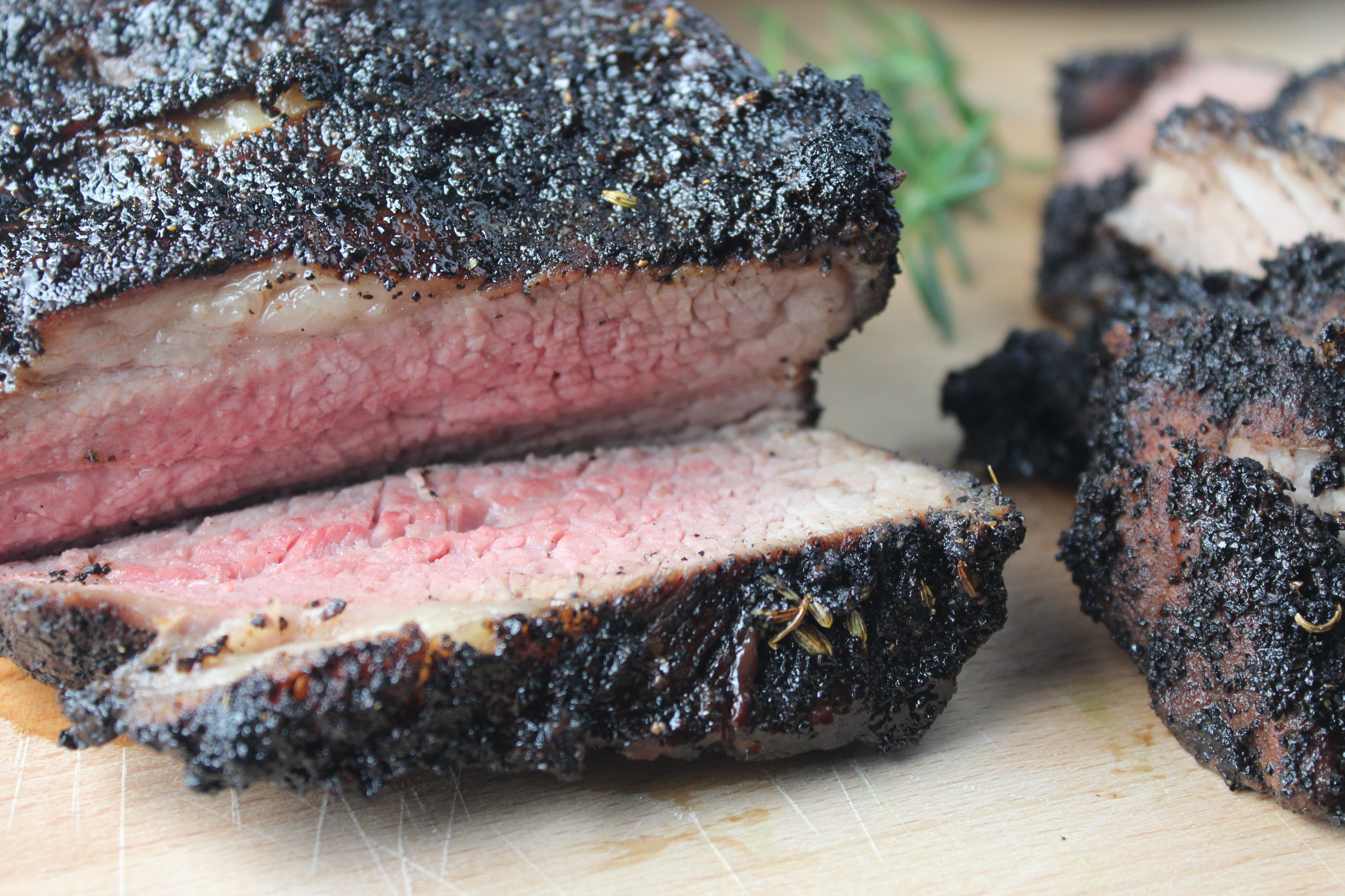 Spice Crusted Grilled Tri Tip